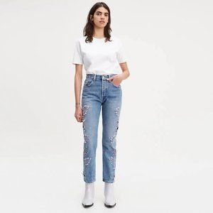 Levi's 501 Made & Crafted Laser Cut Jeans Hi Rise